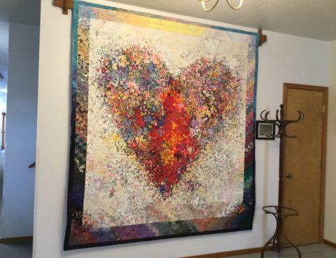 Heart Quilt Anna Asskink Peterson