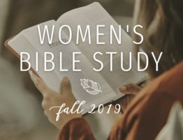 Women of Faith Fall 2019 Bible Study